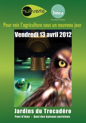 La Nuit Verte, 1er évènement agricole nocturne à Paris