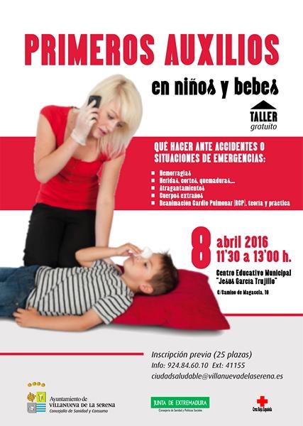 Primeros Auxilios en niños y bebés