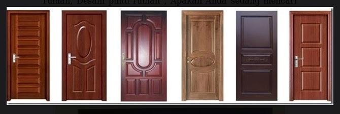 pintu rumah minimalis berdaun satu 1