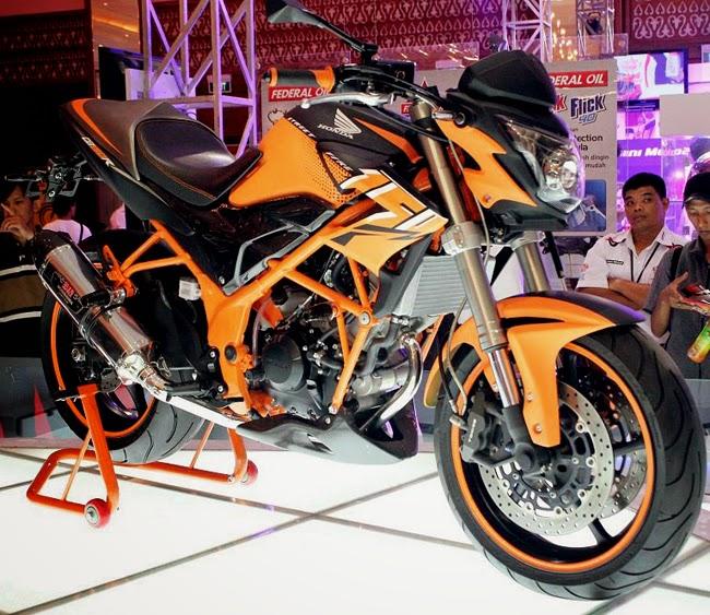 Foto Modifikasi Honda CBR150R StreetFire Terbaru 2014