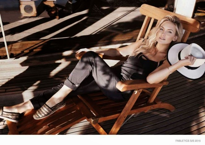 Kate Hudson stars in the Fabletics Spring/Summer 2015 Campaign