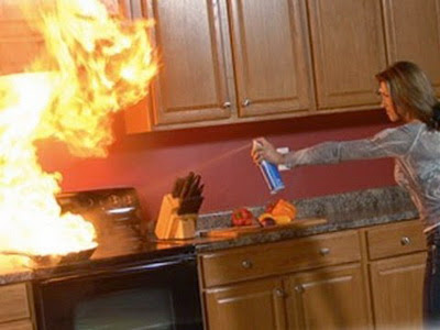 Fungsi Alat Pemadam - Mencegah Api Bertambah Besar