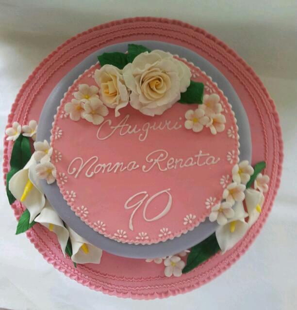 michela barocci sugar artist torta 90 anni