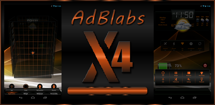 android 2 0 and up overview next launcher 3d x4 hd adblabs x4 hd next