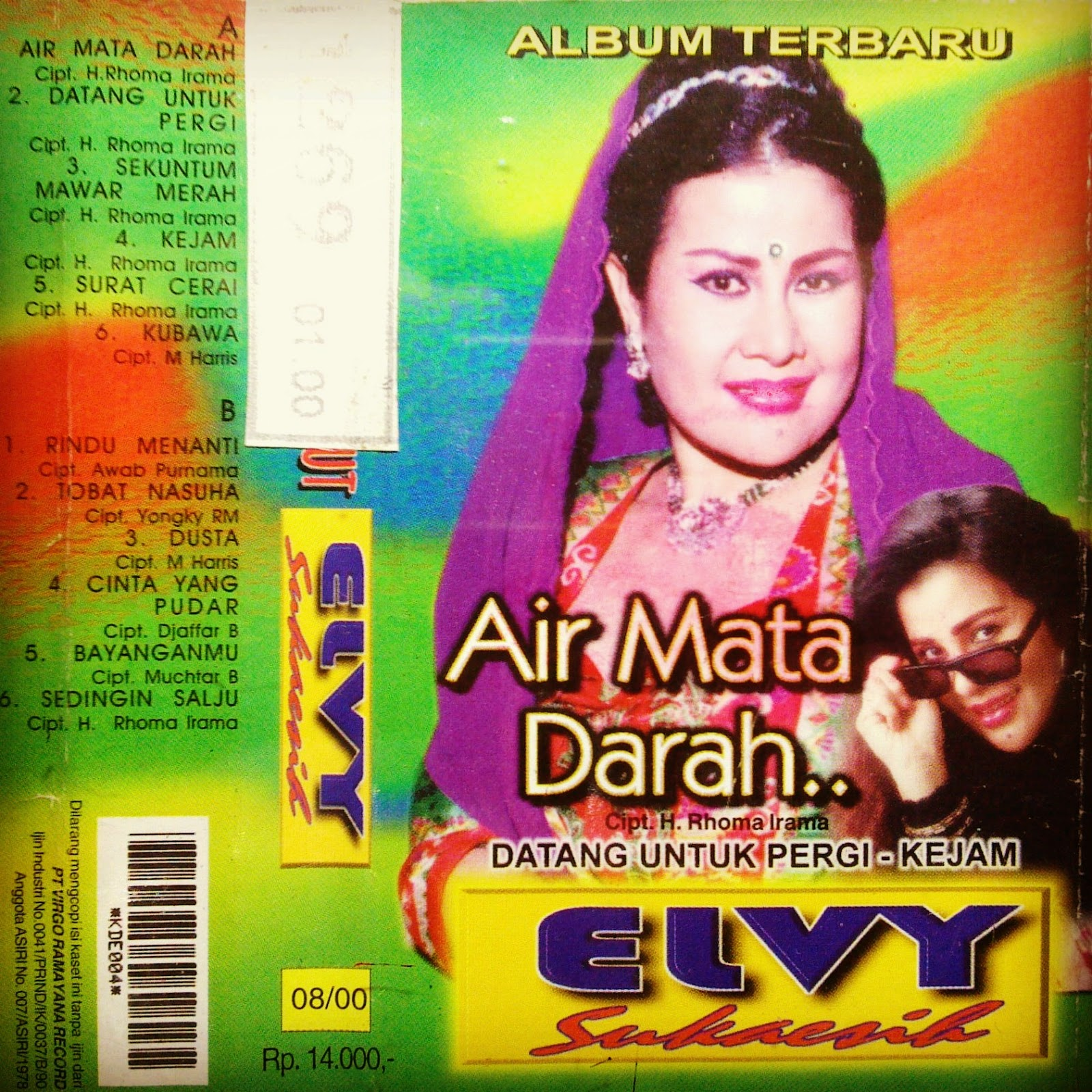 Download Lagu Dangdut Elvy Sukaesih - Air Mata Darah 2000