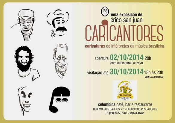 CARICANTORES - Colombina Bar e Restaurante - Piracicaba, SP (2014)