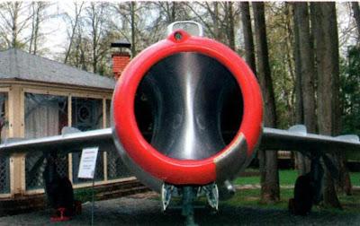 Воздухозаборник двигателя УТИ МиГ-15