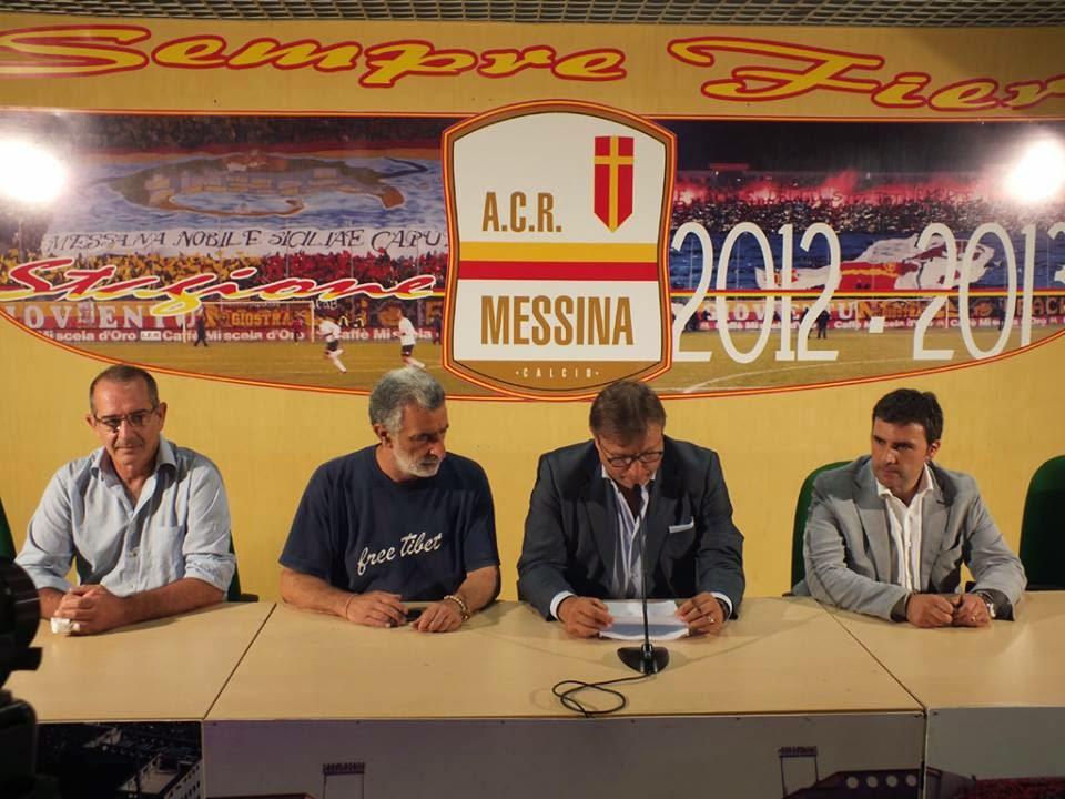 ACR MESSINA-LUPA ROMA.: CONCLUSA CONFERENZA STAMPA LO MONACO-ACCORINTI