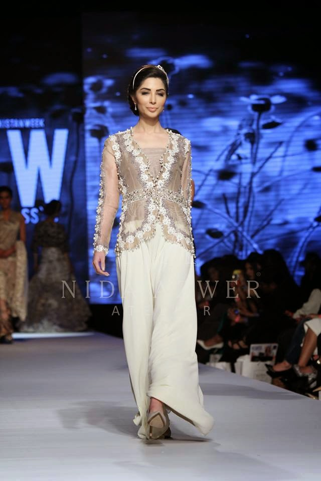 Nida Azwer Stylish Summer Collection 2015 at TFPW