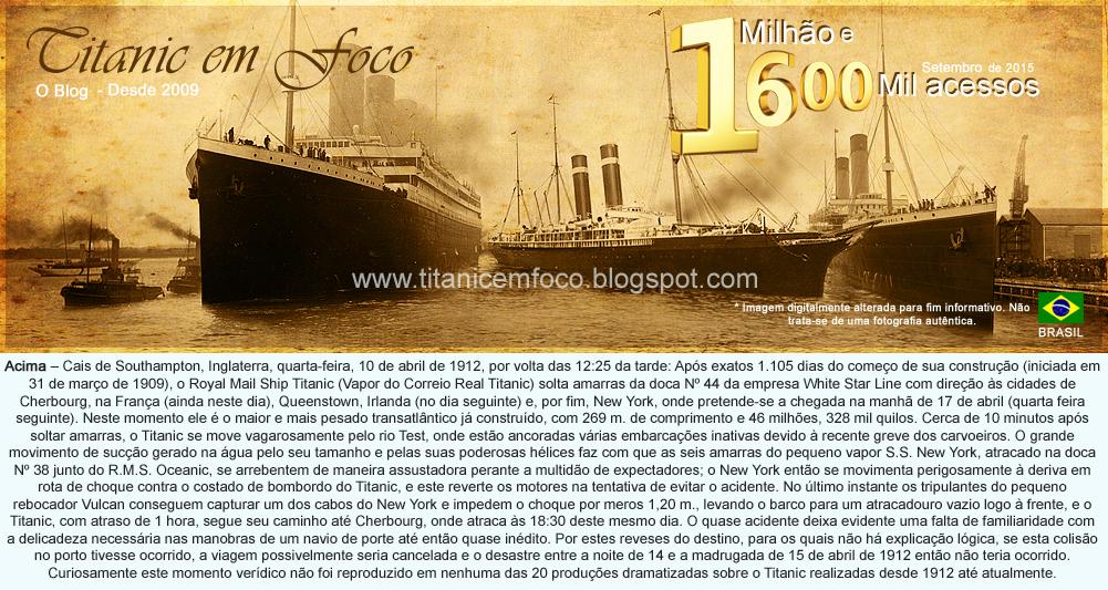 TITANIC EM FOCO