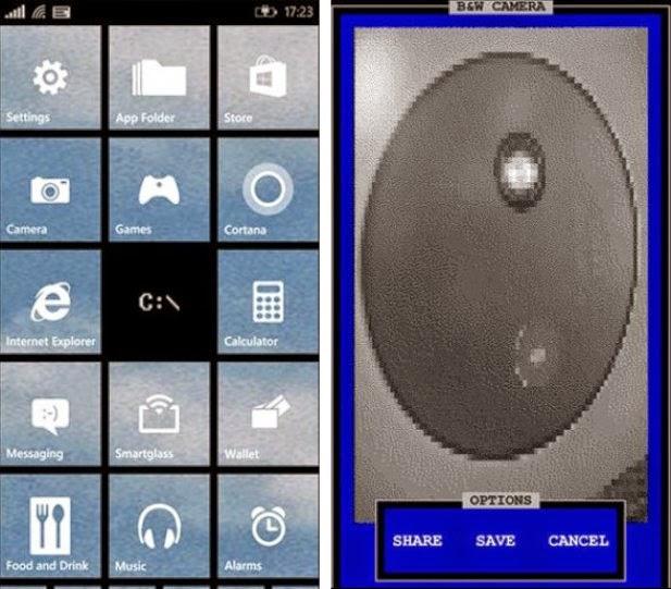 Camera Dos Windows Phone (WP) Lumia 1520