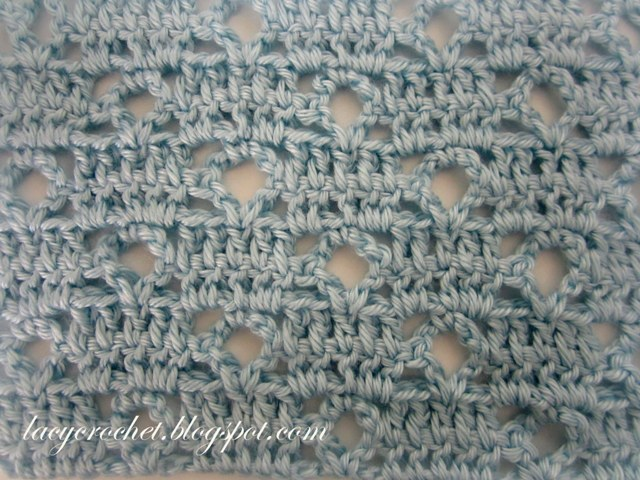 Crochet Stitches Video : Lacy Crochet: Crochet Stitch Patterns