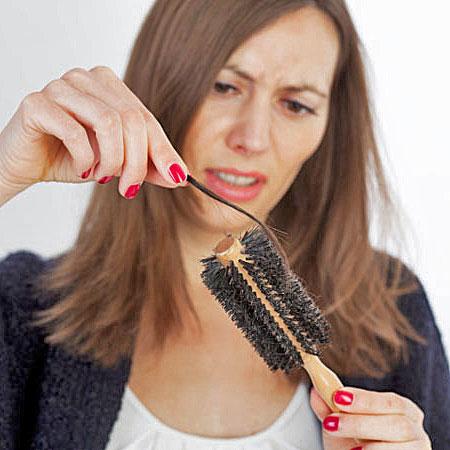 Maschera per punte secche di capelli con cacao