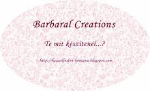Kreatív alkotójáték Barbaránál