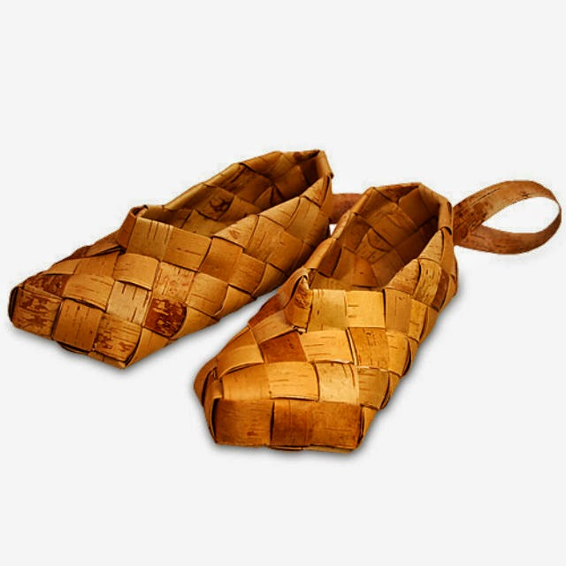 Lapti Russian Shoes