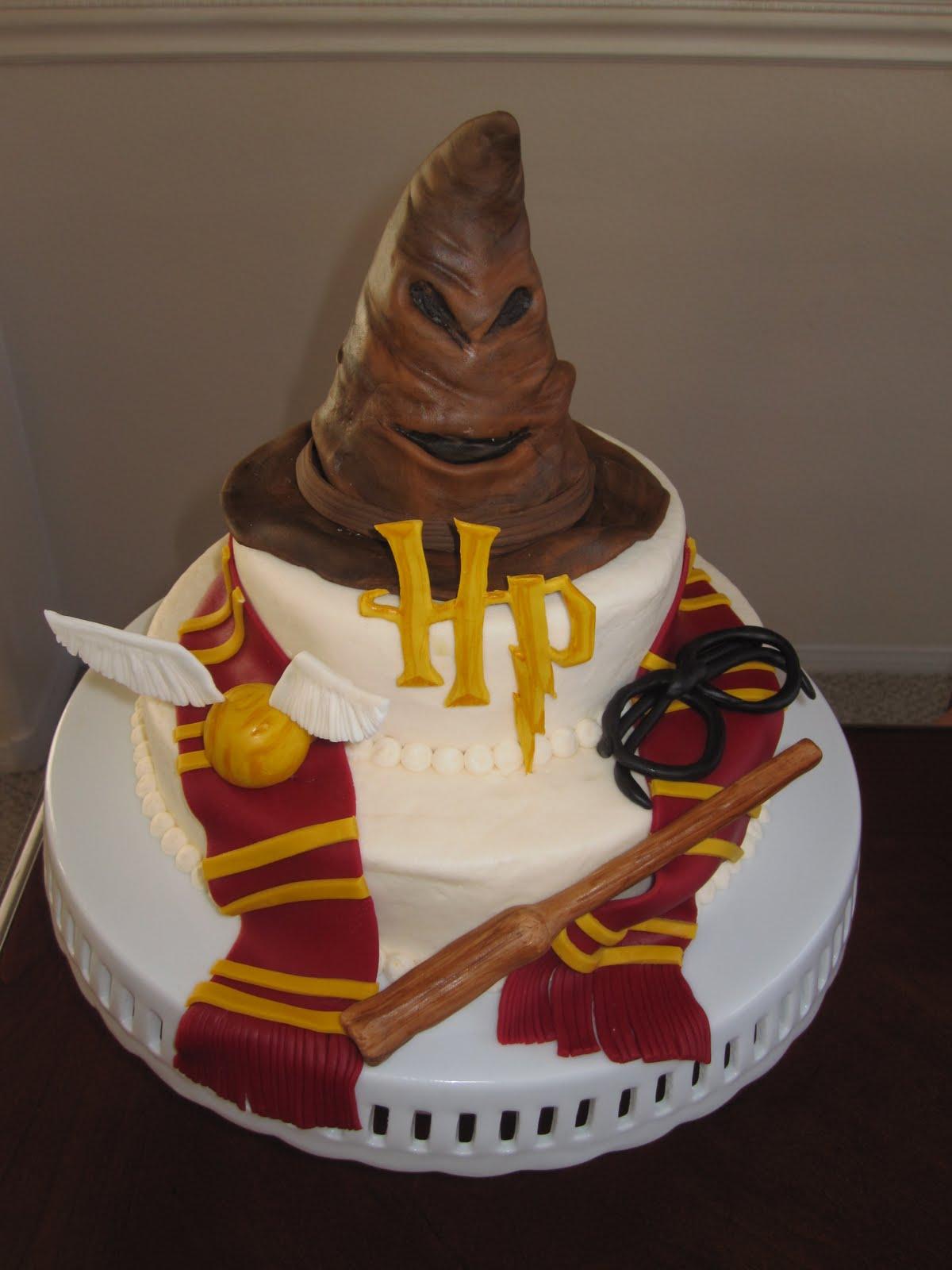 Make Harry Potter Sorting Hat Cake