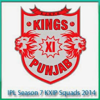 IPL Season 7 KXIP Match Schedule and KXIP Full Scorecards 2014 IPL 7 Teams Standing