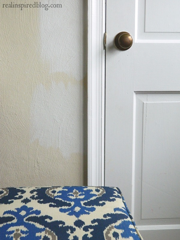Picking a Paint Color for the Craft Room-Sherwin Williams Pearly White