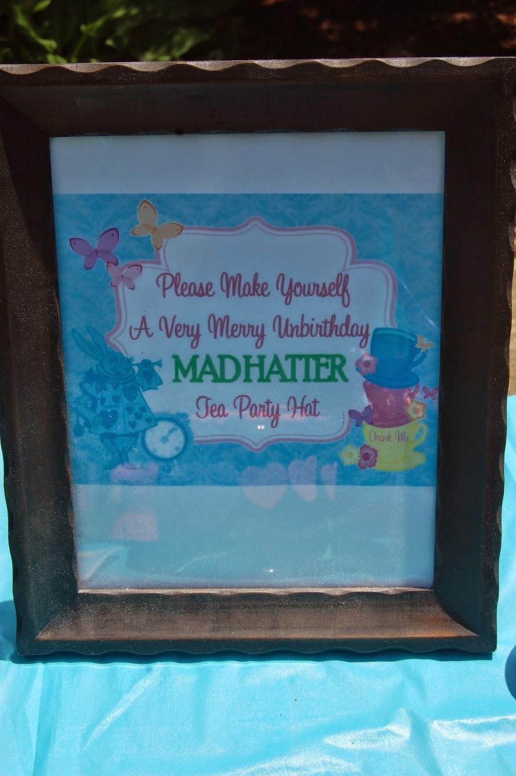 Mad hatter craft