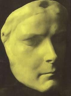 Máscara mortuoria de Sissi. Lacasamundo.com