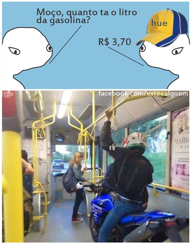 Imagens zuando o preço da gasolina - Imagens para Whats