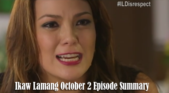 Ikaw Lamang October 2 Episode Summary: Confrontation Intensifies