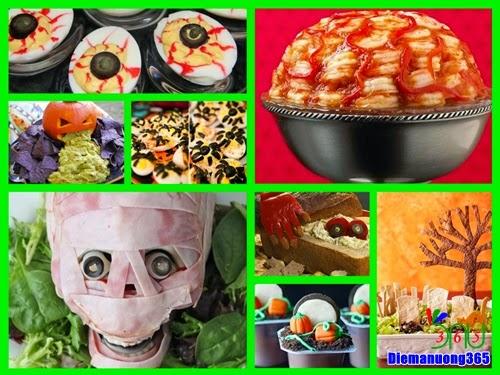 Các món ăn độc đáo trong dịp lễ Halloween 2014