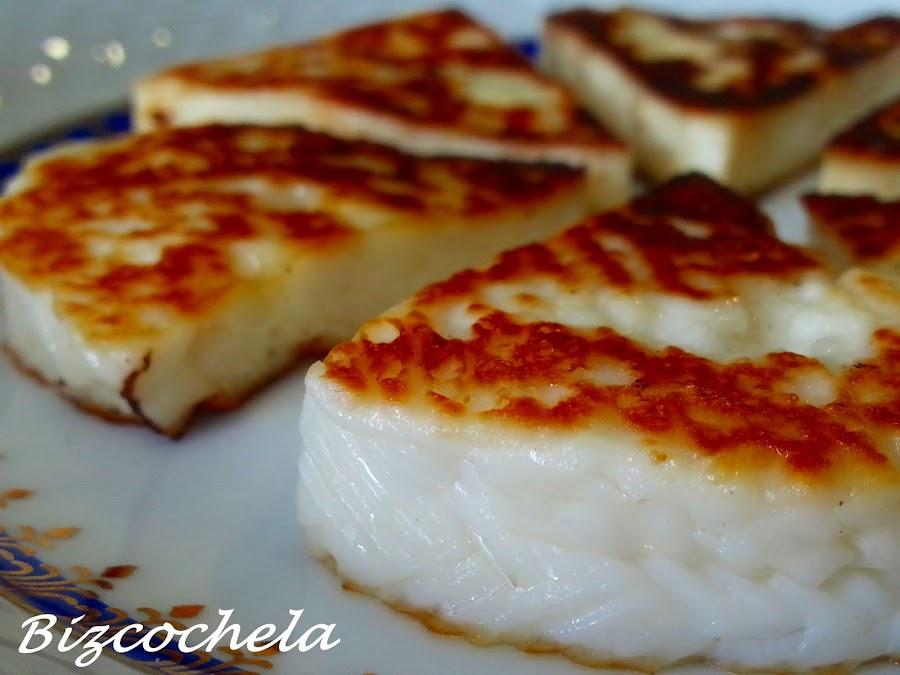 Queso fresco a la plancha: un sano y riquísimo aperitivo o merienda ¡y además muy fácil!