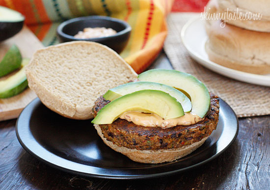 Spicy Black Bean Burgers With Chipotle Mayonnaise Recipes — Dishmaps