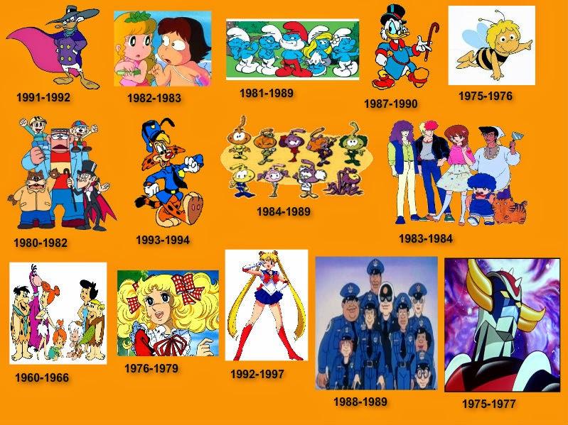 Cartoni animati anni