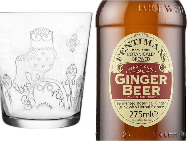 Iittala Taika Juomalasi ja Fentimans Ginger Beer - www.blancdeblancs.fi