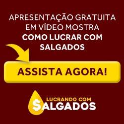 LUCRANDO COM SALGADOS CURSO ONLINE