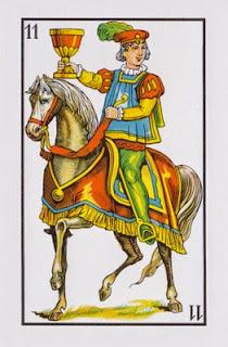 caballo de copas baraja española