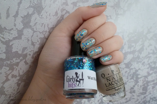 OPI Did You 'ear About Van Gogh? + Girly Bits Wet Bikini