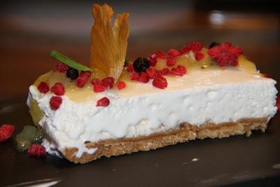 Tarta de queso de Bahía Taberna