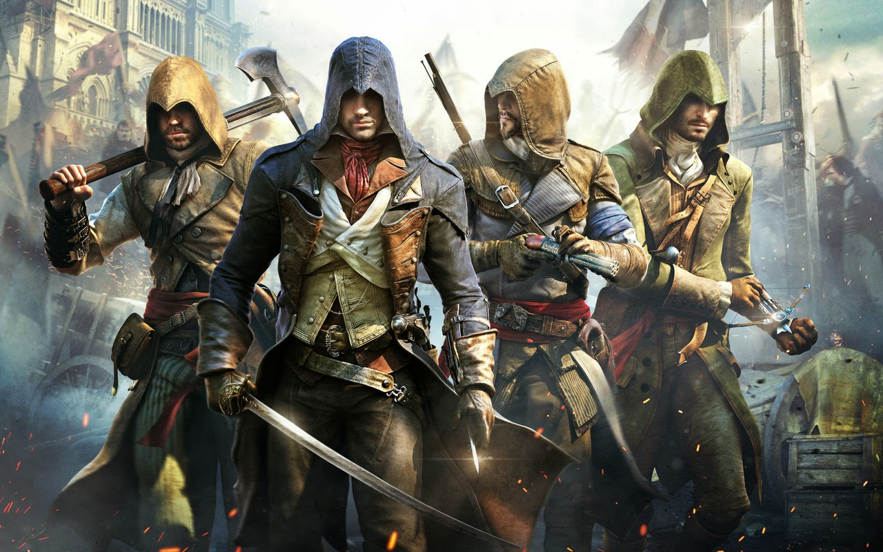 Assassin's Creed unity get the look