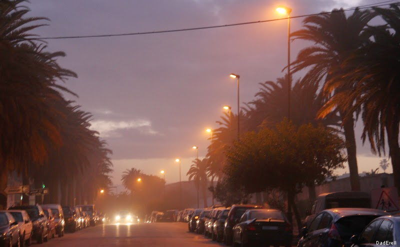 Brume sur Rabat