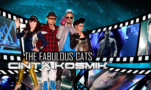 gambar poster cinta kosmik the fabulous cats image