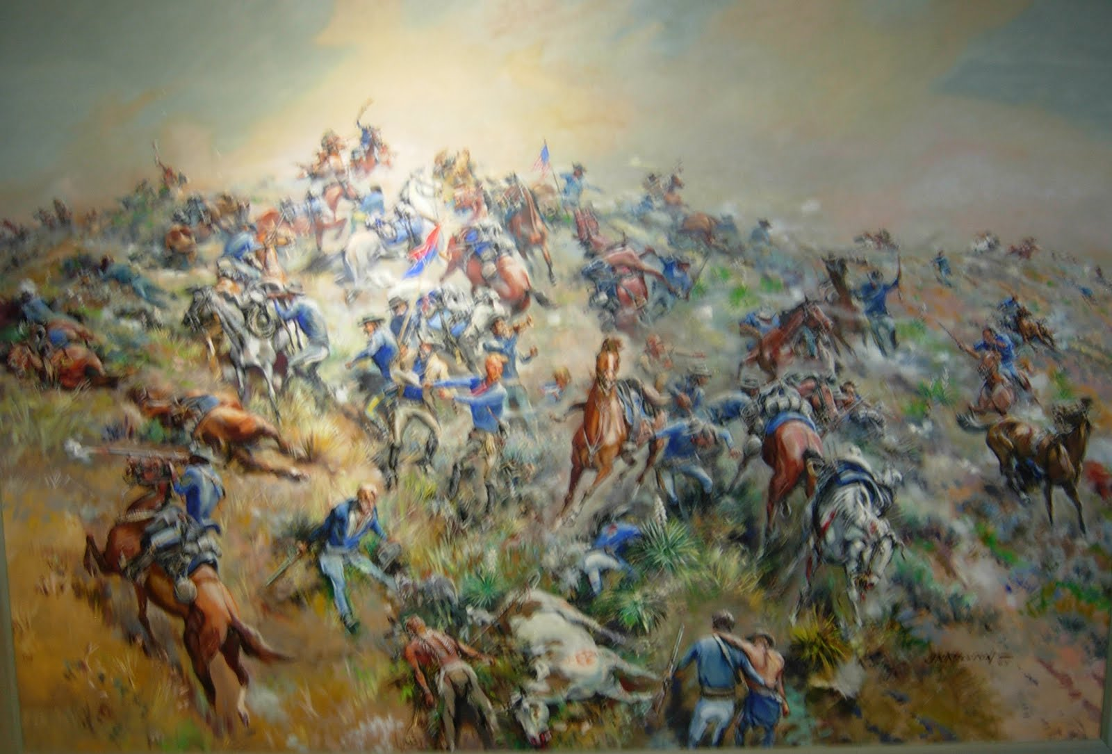 battle of little big horn Little big horn : in the 1800's, america's spirit of westward expansion came at the expense of many of the indian tribes that had lived in the region.