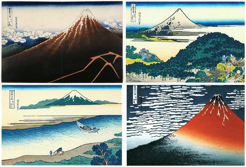 Vistas del monte Fuji