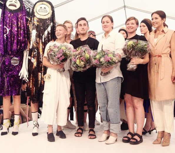 Princess Mary Visited The Collection Of Fashion Designing Students