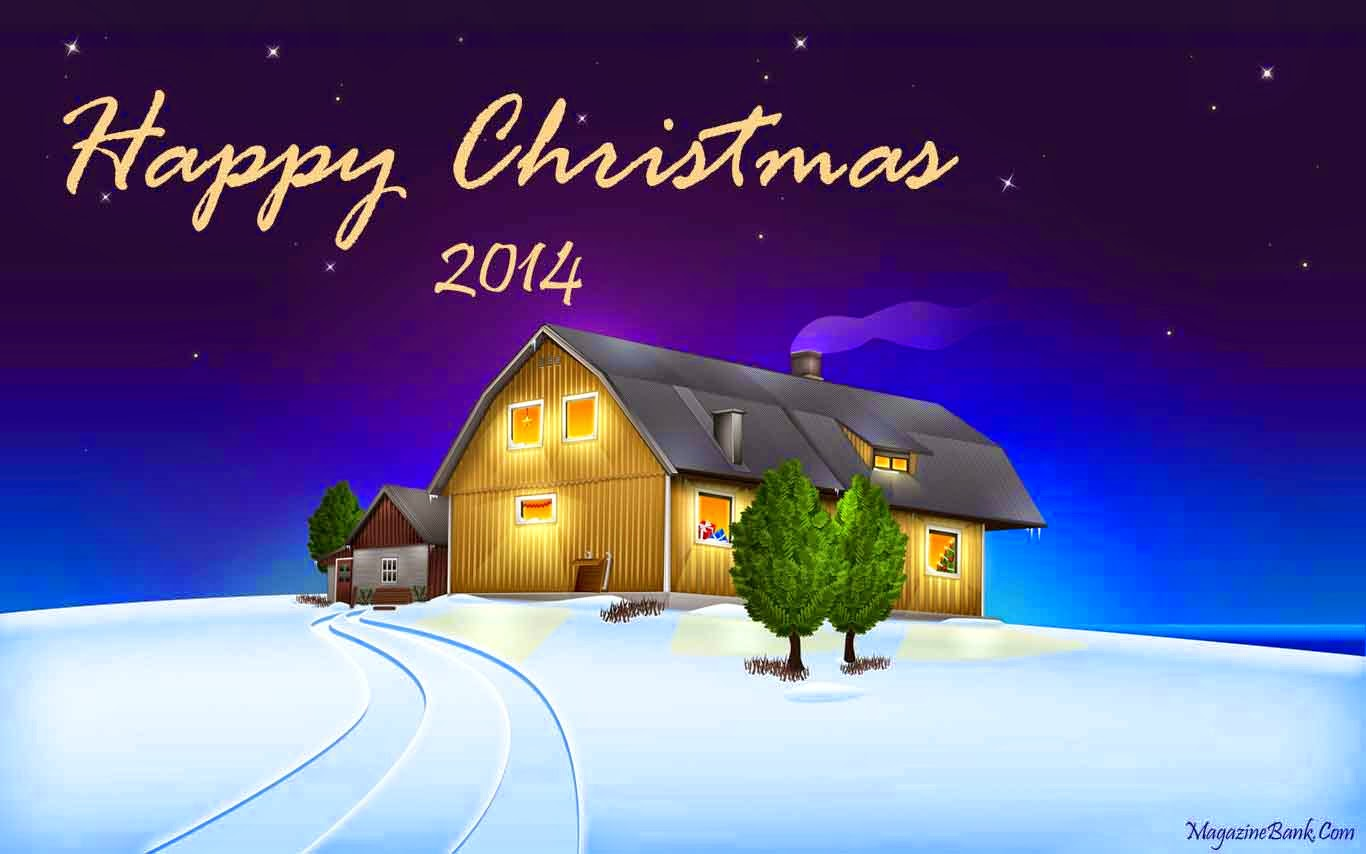 New Happy Merry Christmas 2014 HD Wallpapers