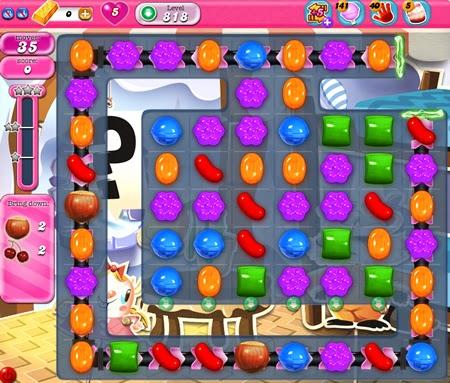 Candy Crush Saga 818