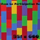 Canciones; 551 a 600