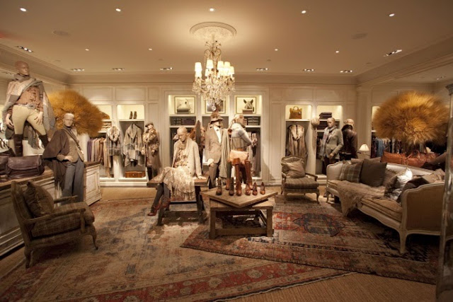 Superb Of Course, Although A Clothing Store, Itu0027s Filled With The RL Collection Of  Furniture, Plus Vintage And Antique Items Thrown In To Create The Ralph  Lauren ...