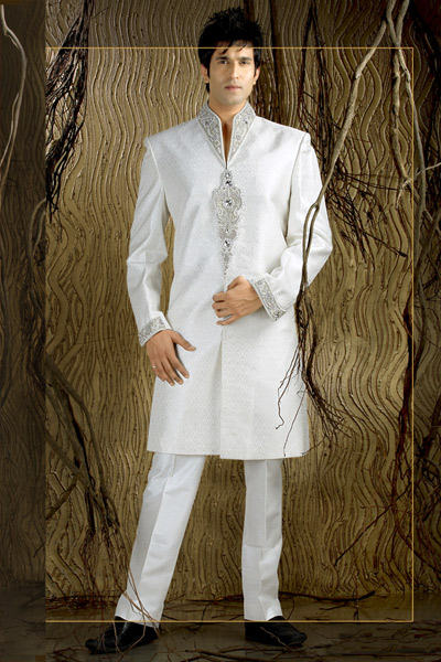 About marriage marriage dresses for indian men 2013 for Wedding dress shirts for groom