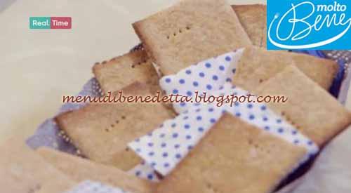 Crackers al miele ricetta Parodi per Molto Bene