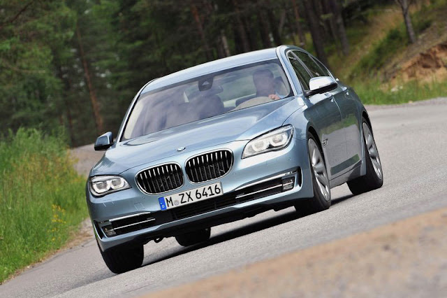 2013 BMW ActiveHybrid 7 Front Exterior