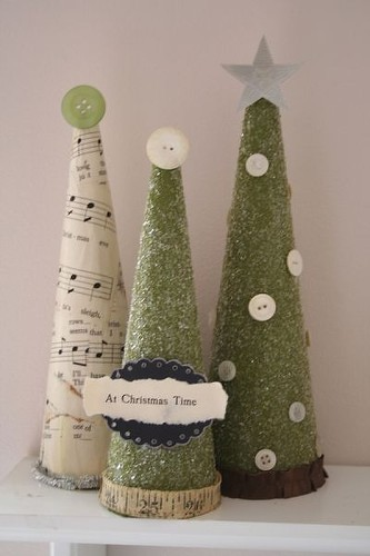 Apartment to apartment jute twine christmas tree for Christmas trees at michaels craft store