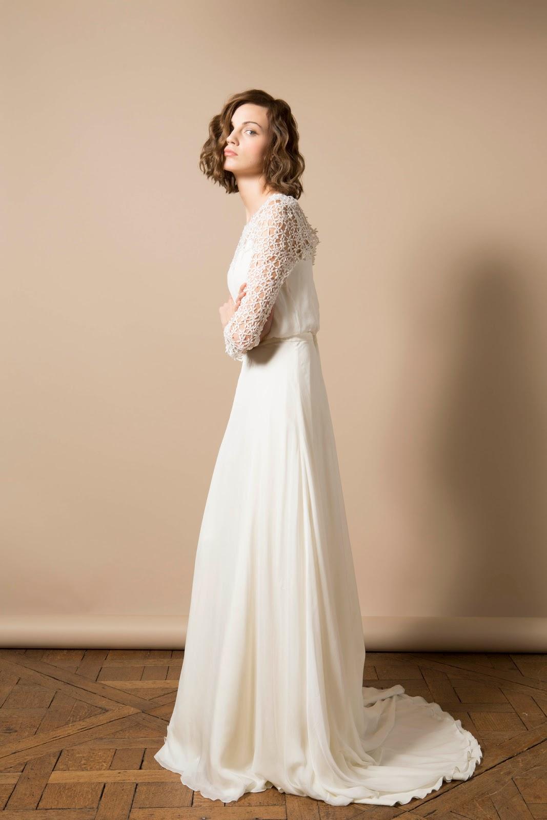 Vestido Novia 2014 Delphine Manivet